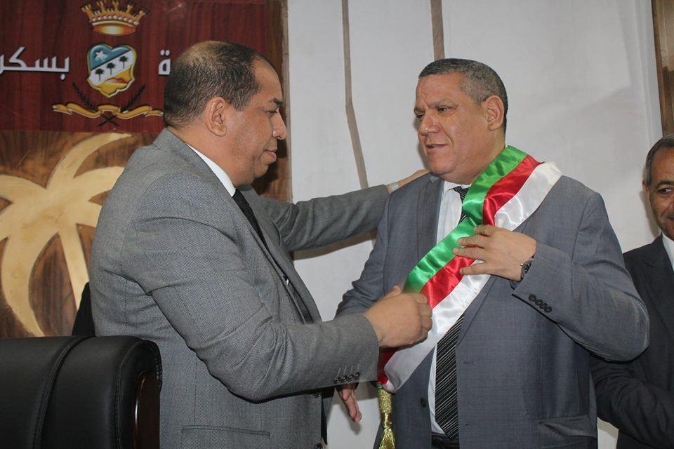 تنصيب المجلس الشعبي البلدي لولاية بسكرة