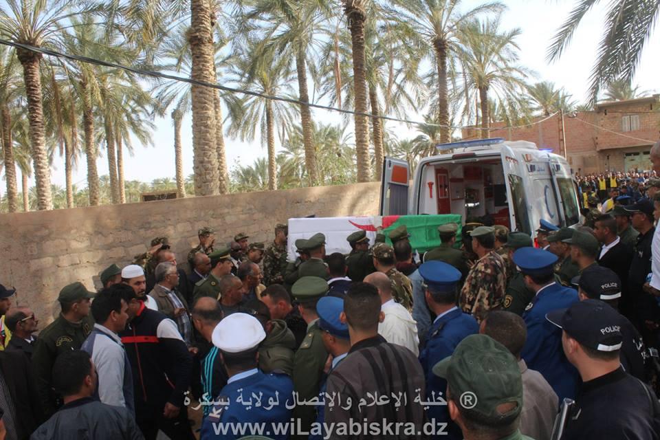 جنازة الشهيد قحة عبد الحق الرقيب المتعاقد