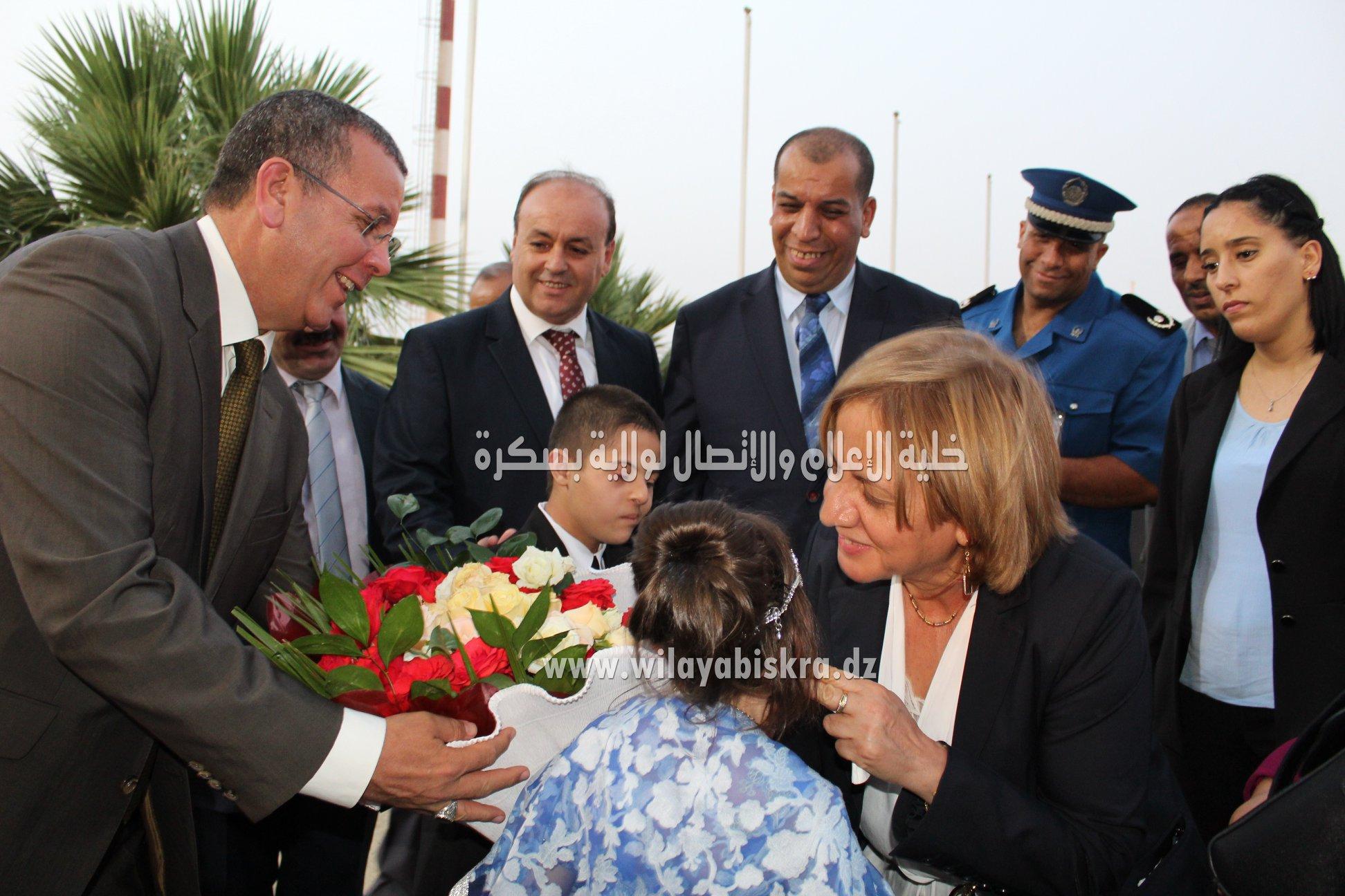 زيارة معالي وزيرة التضامن الوطني والاسرة وقضايا المرأة