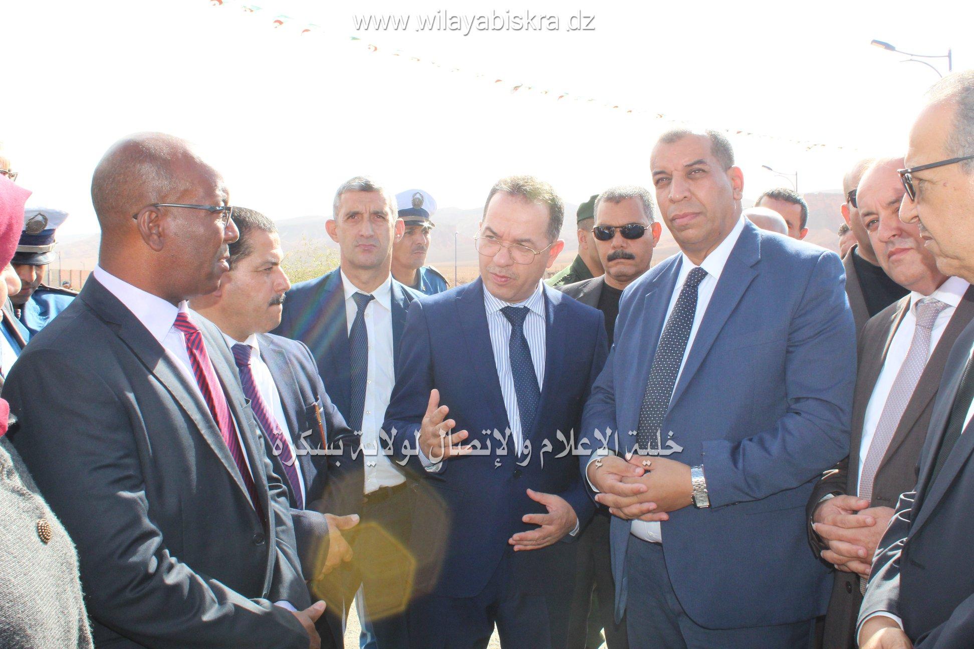 زيارة وزير العمل والتشغيل والضمان الاجتماعي.