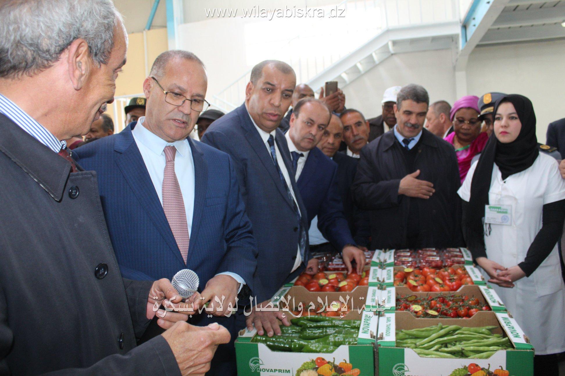 زيارة معالي وزير الفلاحة و التنمية الريفية و الصيد البحري.