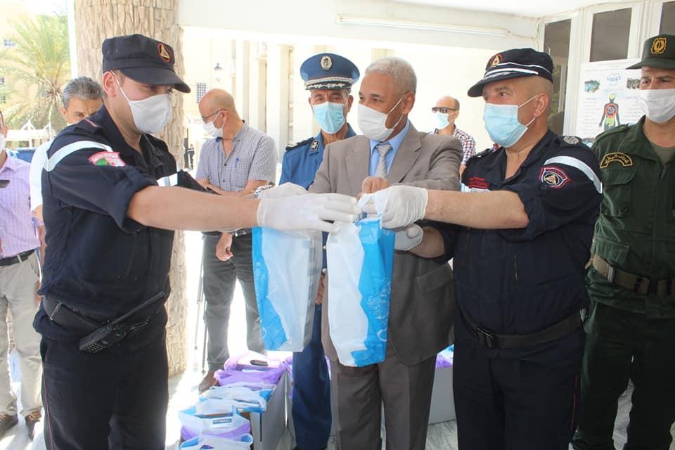 انطلاق عملية توزيع 36000 كمامة طبية على المواطنين