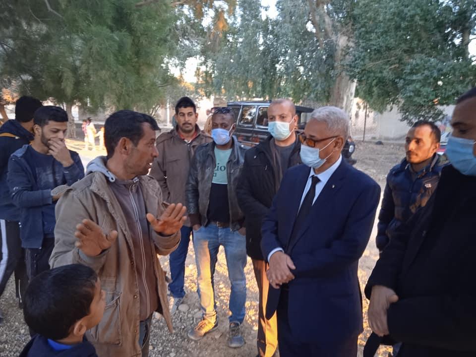 زيارة قرية فم الخرزة