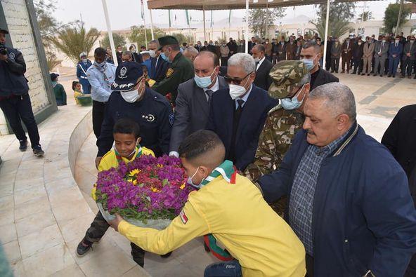 الذكرى المزدوجة الخامسة والستون لتأسيس الإتحاد العام للعمال الجزائريين و الخمسون  لتأميم المحروقات المصادف ل 24 فيفري من كل سنة