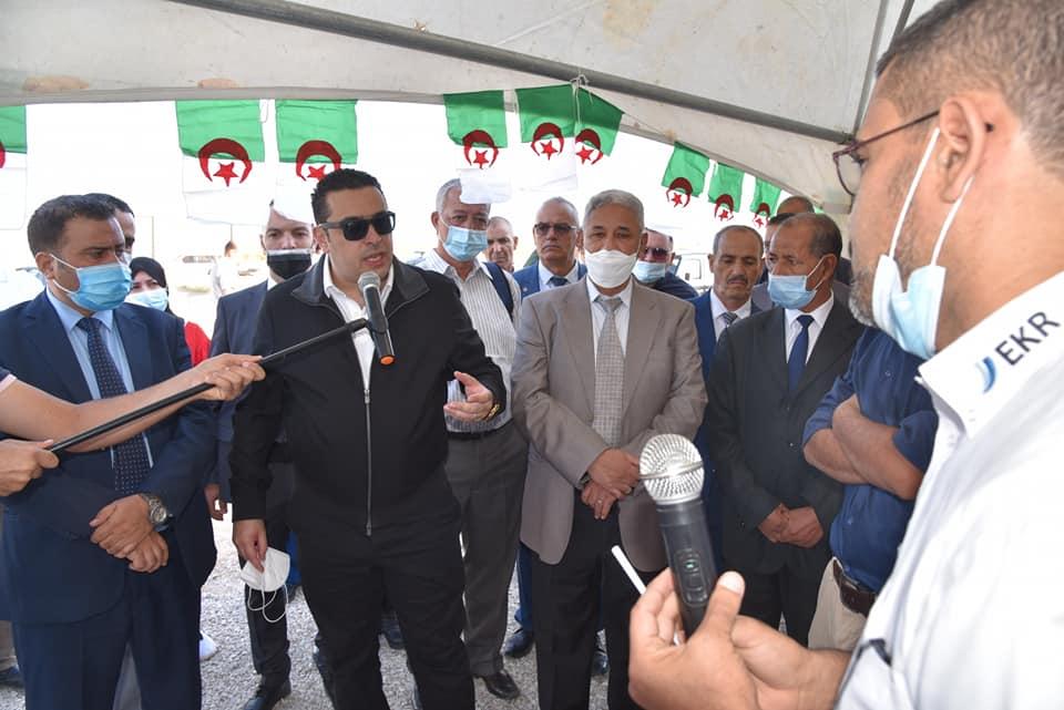 زيارة وزير الصيد البحري في يومه الثاني